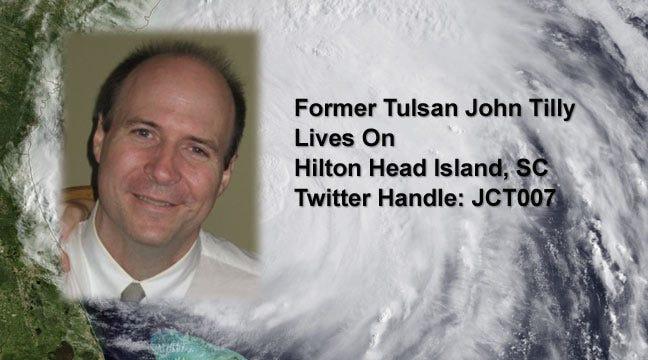 Oklahomans Tweet Their Experiences In Hurricane Irene's Path