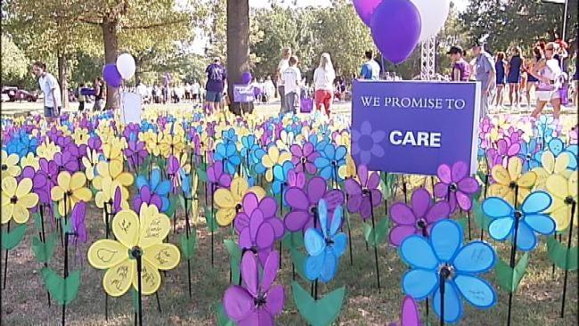 Thousands Walk To End Alzheimer's In Tulsa