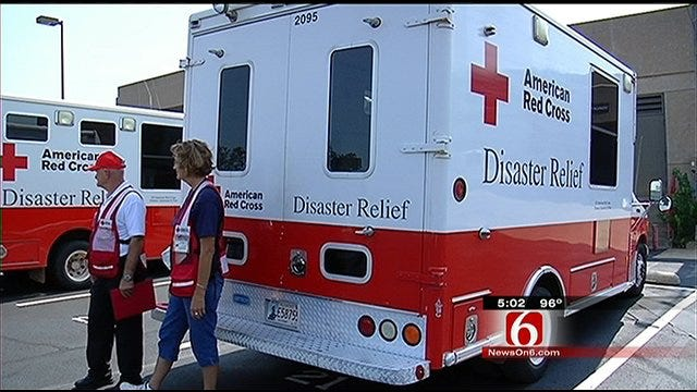 Tulsa Red Cross Fans Out Across Eastern Seaboard For Storm Relief