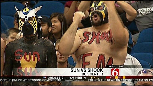 Shock Knocks Off Sun, Wins Second Consecutive