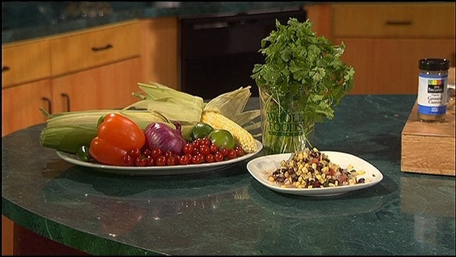 Corn, Black Bean, and Tomato Salad