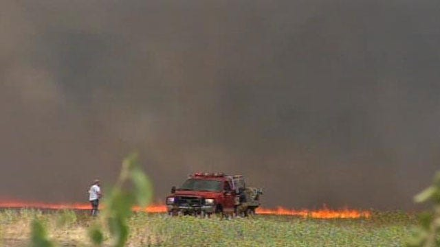 All 77 Oklahoma Counties Under Burn Ban Issued By Governor