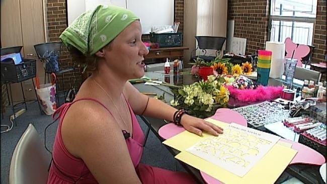 Volunteers Create Butterflies For Tulsa Cancer Survivors