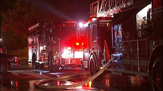 Ember From Another Fire Sparks Tulsa House Fire