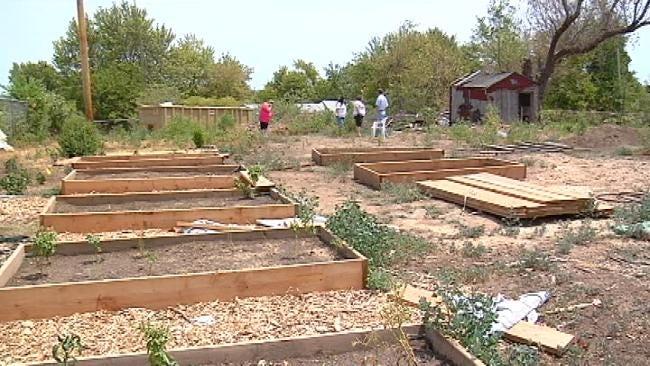 Grant, Volunteers Create Turley Community Garden