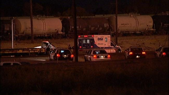 OHP Identifies Railroad Employee Killed In Tulsa Train Yard Accident