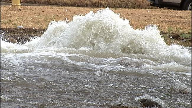 Ten Water Main Breaks Before 8 A.M. Thursday Across Tulsa
