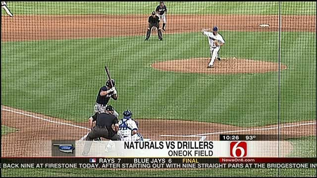 Drillers' Offense Disappears In Loss To Naturals