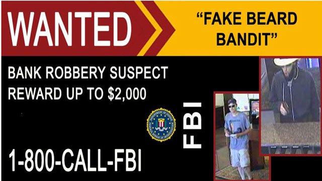 FBI Looking For 'Fake Beard Bandit' Who Robbed Coweta Bank In May