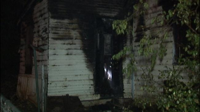 Fire Destroys Sand Springs Home Late Thursday Night