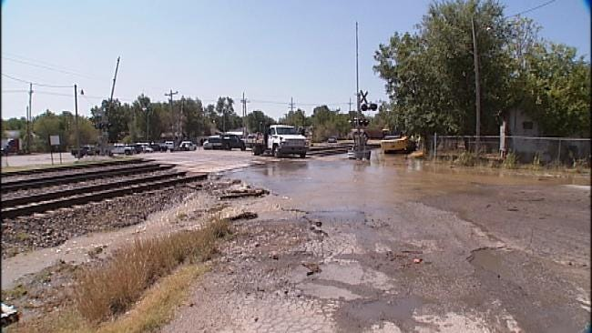 Sapulpa Water Leak Shuts Down Glass Plant, Affects Residential Customers
