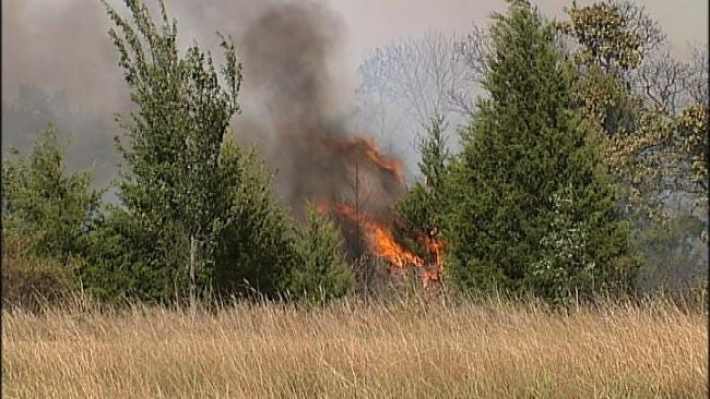 Wildfire Burns Two Homes North Of Tahlequah