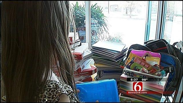 Broken Arrow Girl Helping Kids In Tornado Ravaged Joplin