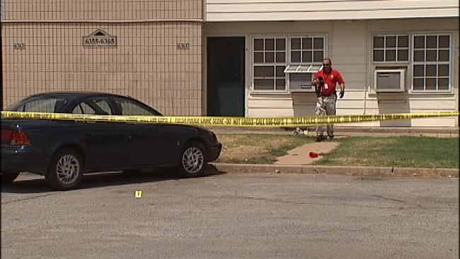 Man Arrested For Shooting At Tulsa Apartment Complex