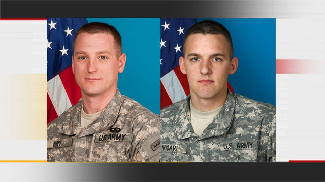 Funerals This Week For 2 Oklahoma Soldiers Killed In Afghanistan