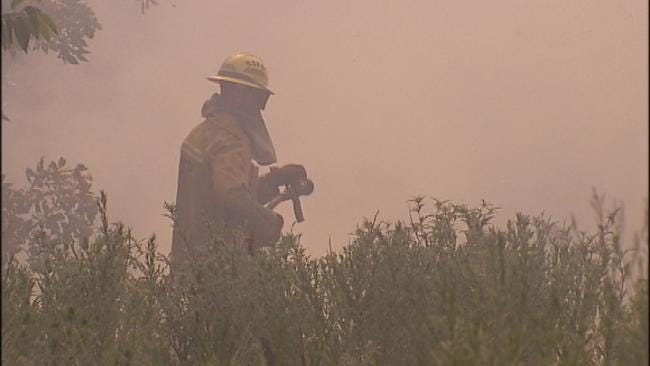 High Winds, Extreme Heat Plague Green Country Crews Battling Wildfires