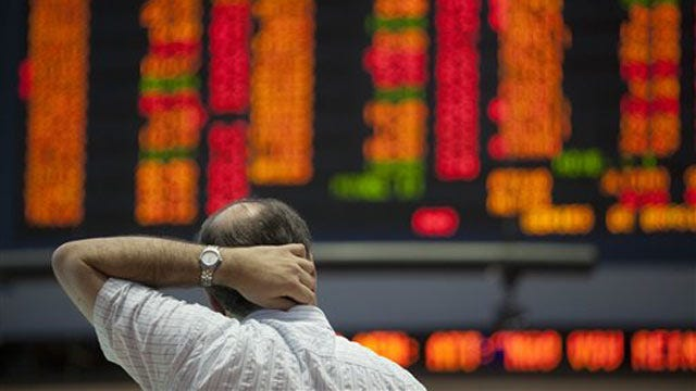 Oklahoma Stocks Take Hit In Monday's Market Dive