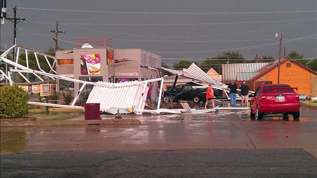 Storms Bring Rain, Damaging Winds To Parts Of Oklahoma