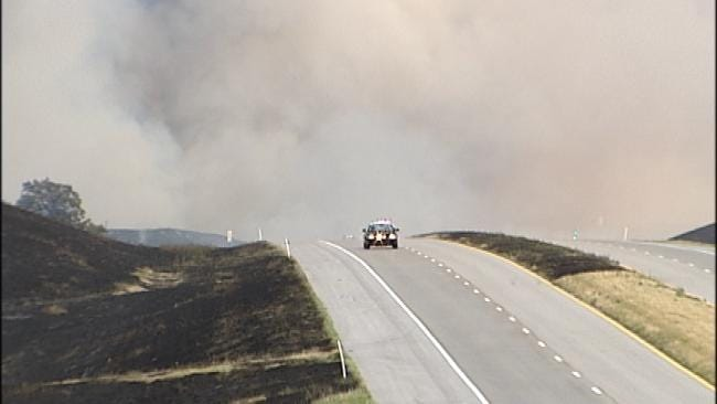 Pawnee County Wildfires Largely Under Control