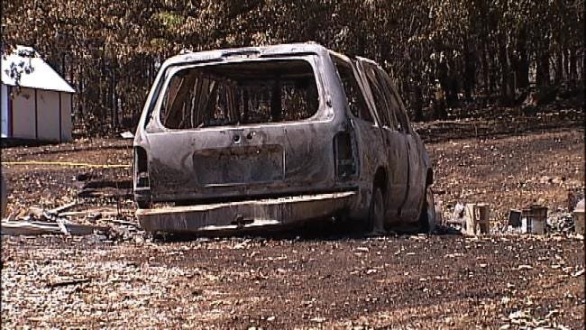 Terlton Residents Begin Cleanup After Wildfire