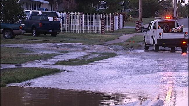 Tulsa's Record Heat Making For Record Number Of Water Main Breaks