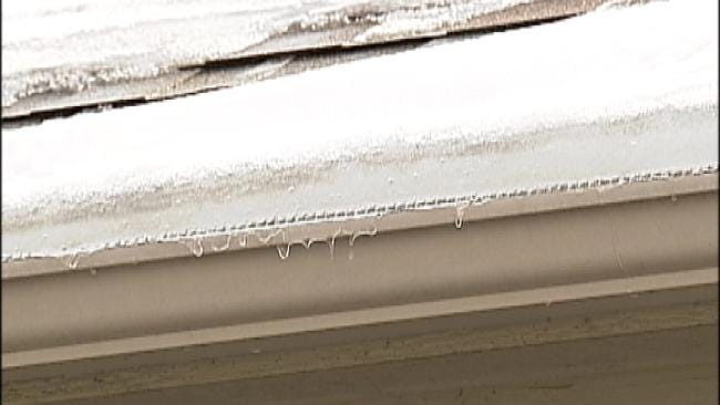 Ice Dams Pose Potential Problems For Green Country Homeowners