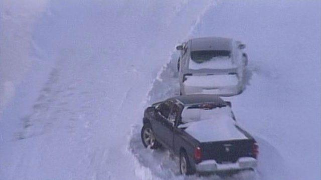 SkyNews6 Captures Birds Eye View Of 2011 Blizzard