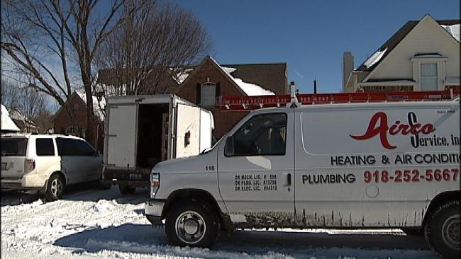 Heat Repair Technicians Working Overtime In Tulsa Area