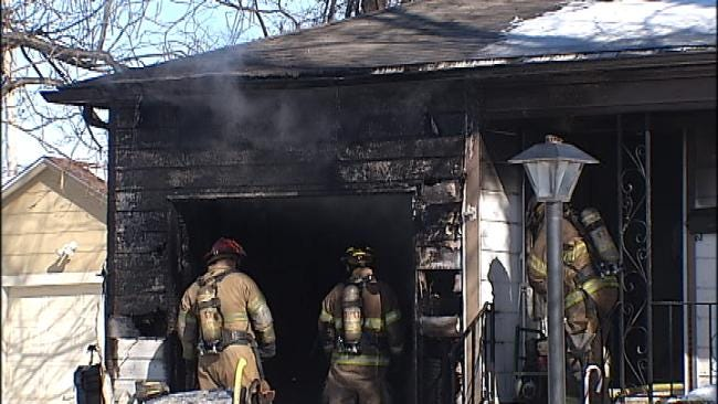 Tulsa Firefighters: Space Heater Likely Cause Of Fire That Destroyed Home
