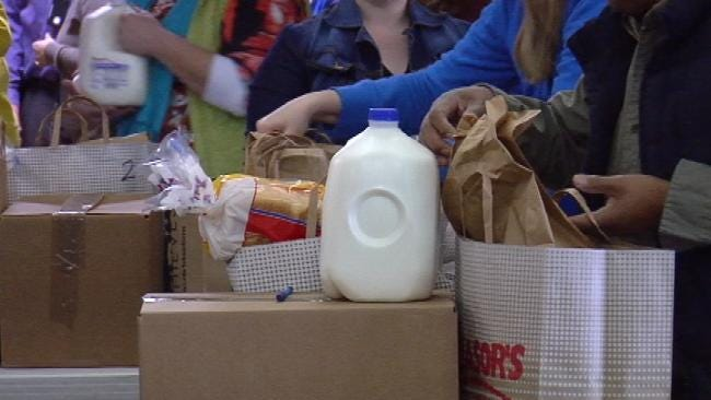 Tulsa Families Restock Shelves With Help From Emergency Food Pantry