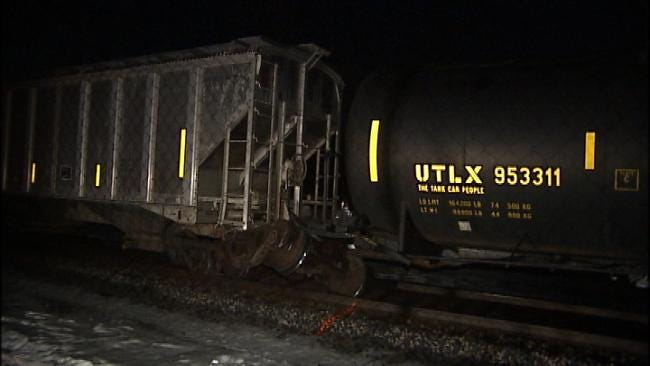 Driver Killed In Collision With Moving Train In Tulsa