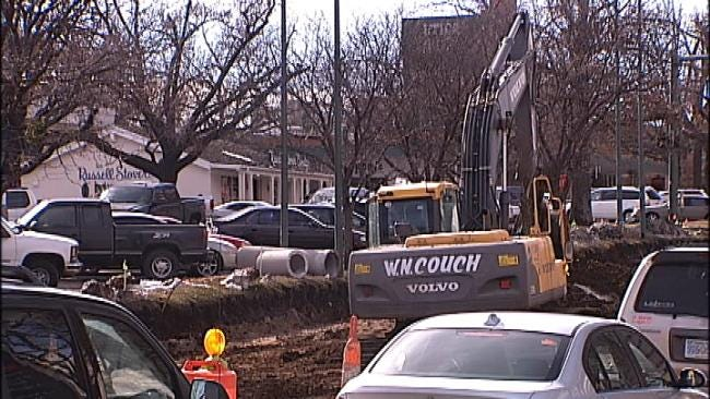 Crews Making Progress On Tulsa Water Main Break Repairs