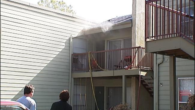 Fire Destroys Unit, Damages 4 Others At South Tulsa Apartment Complex