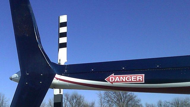 Medical Helicopter Lands In Tulsa Field After Striking Hawk