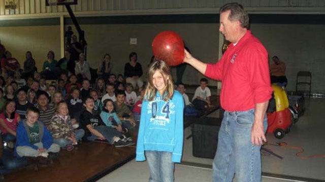 Trav's Wild Weather Camp Visits Catoosa Elementary