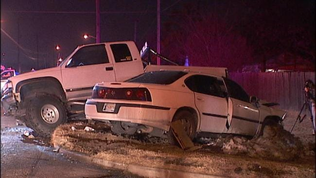 Tulsa Police: Officers Injured In Alcohol-Related Crash