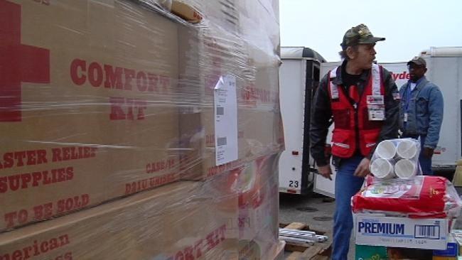 Tulsa Red Cross Restocks After Winter Storm