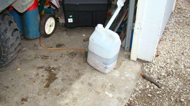 Five Gallon Jug Of Meth Material Seized In Washington County