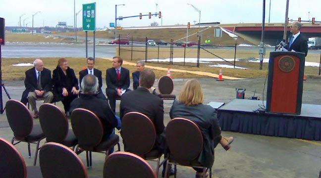 Officials Celebrate End Of Catoosa's 'Dysfunction Junction' Road Project
