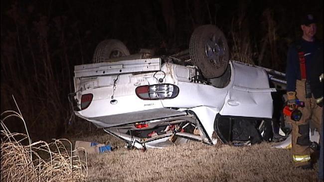 Driver Dies After High Speed Crash Near Bixby