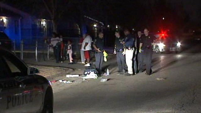 One Injured In North Tulsa Shooting
