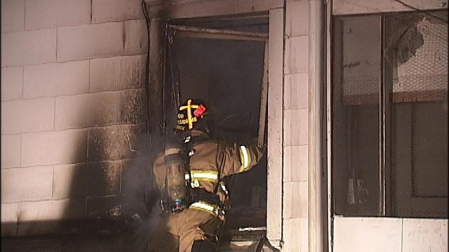 One Man Treated At Tulsa Hospital Following Fire