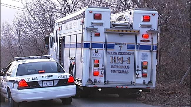 Small Brush Fire In West Tulsa Uncovers Working Meth Lab