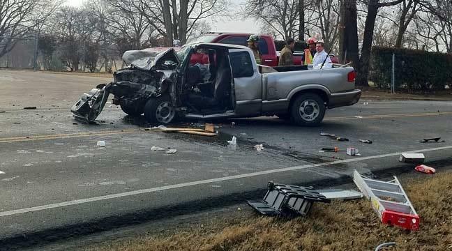 Man Injured In Tulsa Head-On Collision