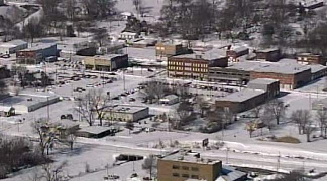 Oklahoma Blizzard 2011: SkyNews 6 Flies Over Green Country Cities