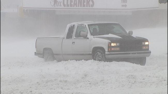 Stranded Oklahoma Travelers Find Shelter With Red Cross