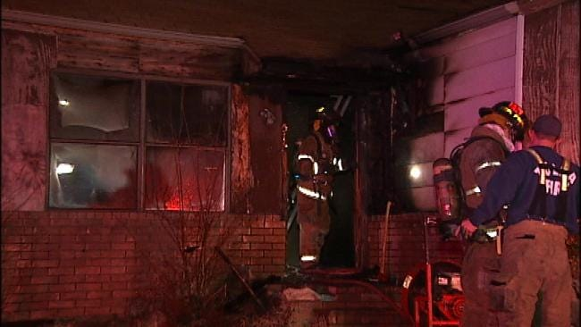 Vacant Tulsa Home Damaged In Sunday Morning Fire