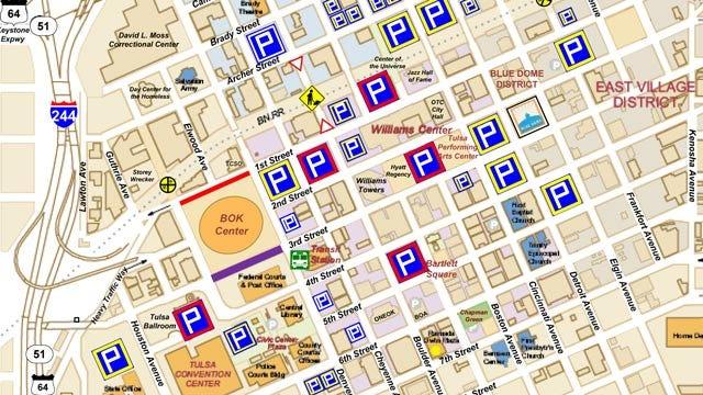 Downtown Tulsa Street Closings Because Of Cirque Du Soleil Performances