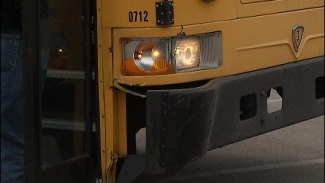 No Serious Injuries When Union School Bus And Car Collide In South Tulsa
