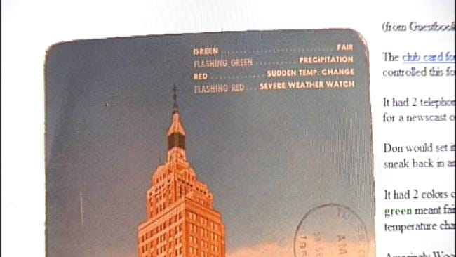 Downtown Tulsa Building Used To Predict The Weather